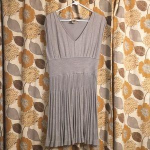 Max Studio knitted cap sleeve dress